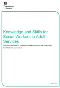 'The work of the social work profession [is] crucial to the success of social care legislation and policy.'