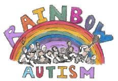 rainbow autism logo