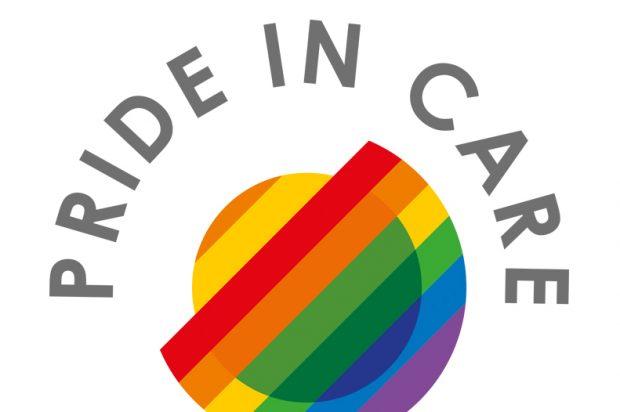 Opening Doors London Pride in Care Logo
