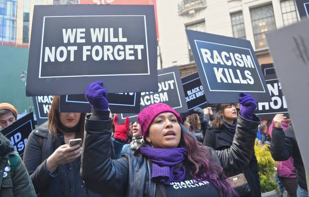 Black Lives Matter peaceful protest in New York