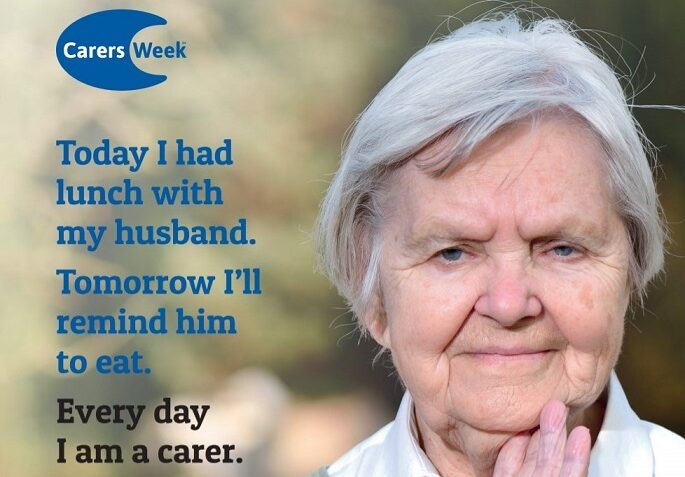 Older carer explains how caring is an every day role.