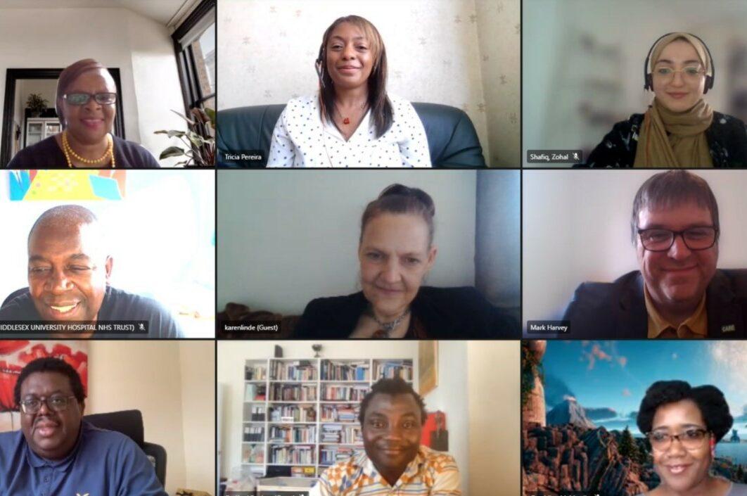 WRES advisory group online meeting