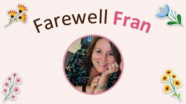 Fran leddra virtual leaving card